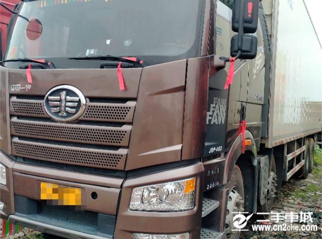 一汽解放 J6P 460九米六冷藏车