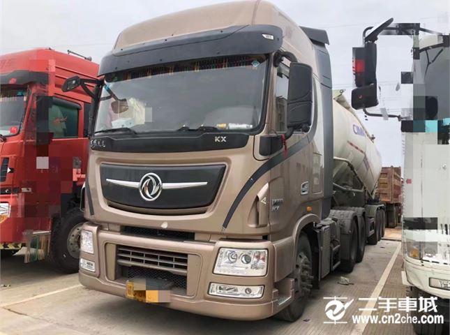 东风 天龙旗舰KX 560马力牵引车(水泥罐)