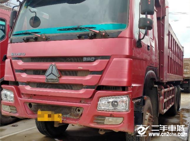 中國重汽 豪沃T7H 380后八輪自卸車