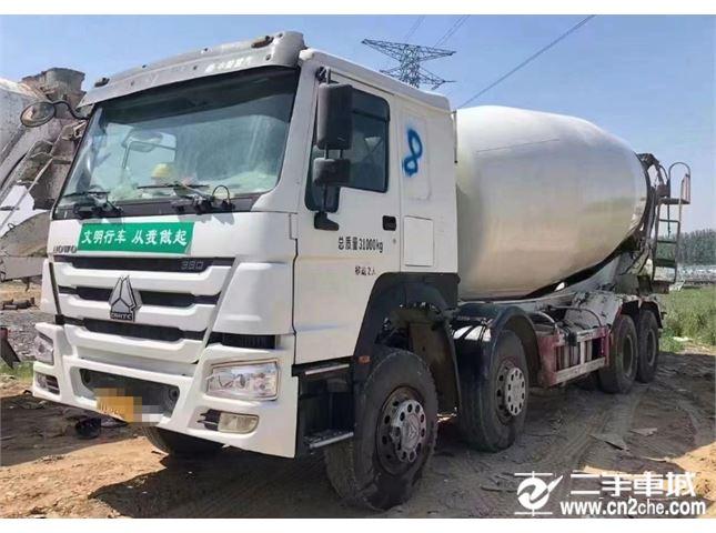 中国重汽 豪沃 20方混凝土搅拌车
