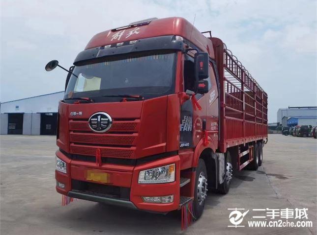 一汽解放 J6P 460马力仓栅式载货车