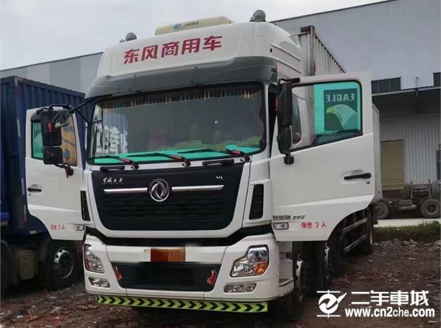 东风 天龙VL 292马力前四后四厢式货车