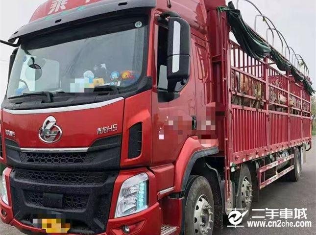 东风柳汽 乘龙H5 290马力9.6米高栏载货车