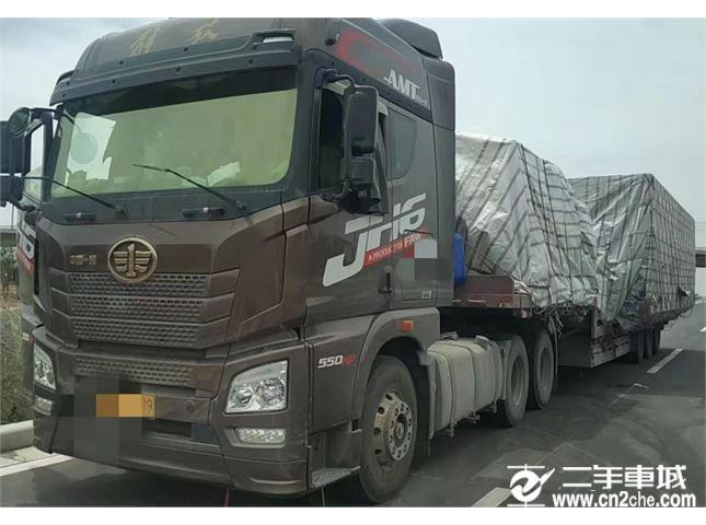青岛解放 JH6 550马力牵引车