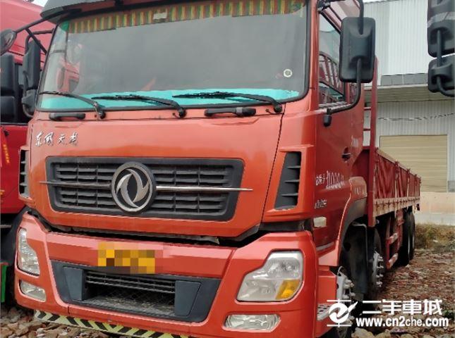 東風 天龍 385九米六平板車