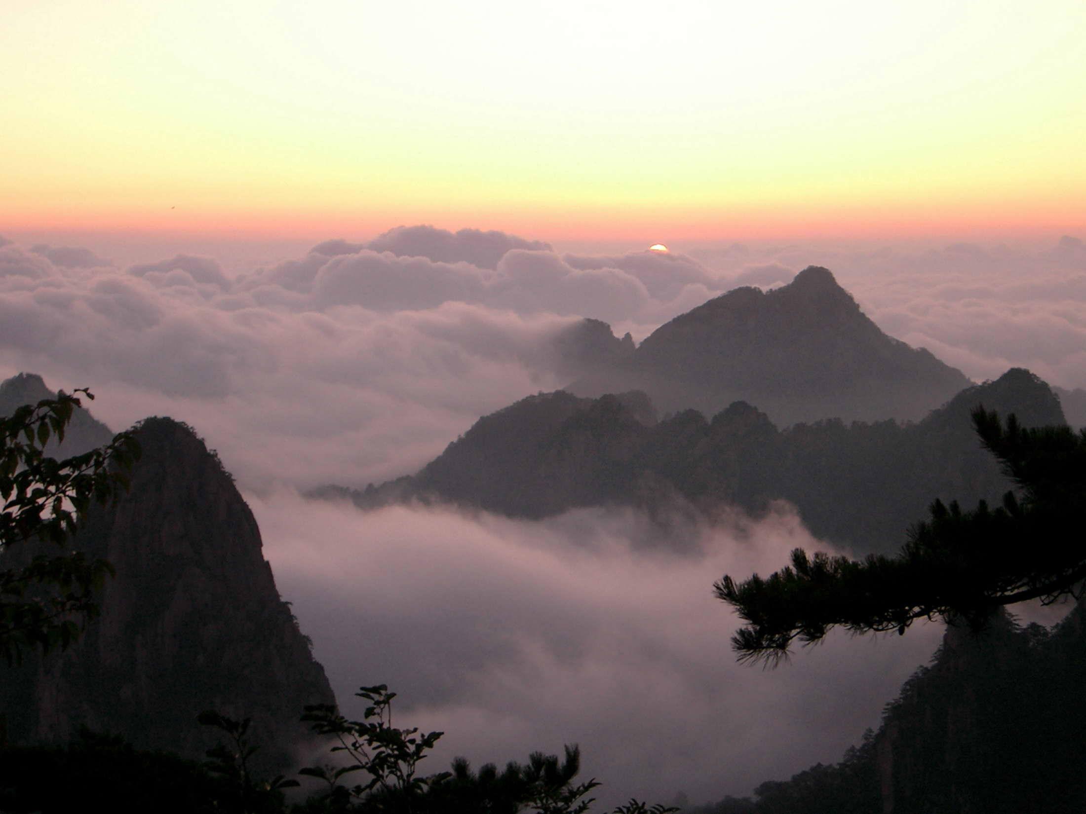 九华山--黄山风景区--黄山