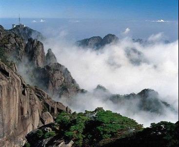 黄山风景区就是对我们游客来说