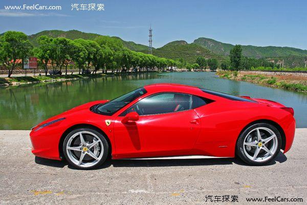 法拉利458 italia 试驾法拉高清图片