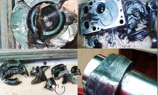 货车维修:wp10电控发动机捣缸