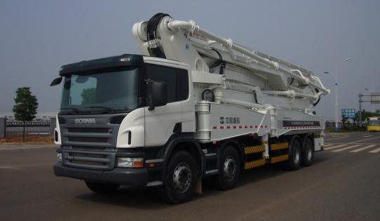 斯堪尼亚375台重型卡车底盘将交付中联重科