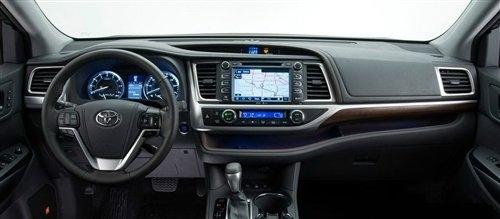 2014款汉兰达官图发布 纽约车展上首发
