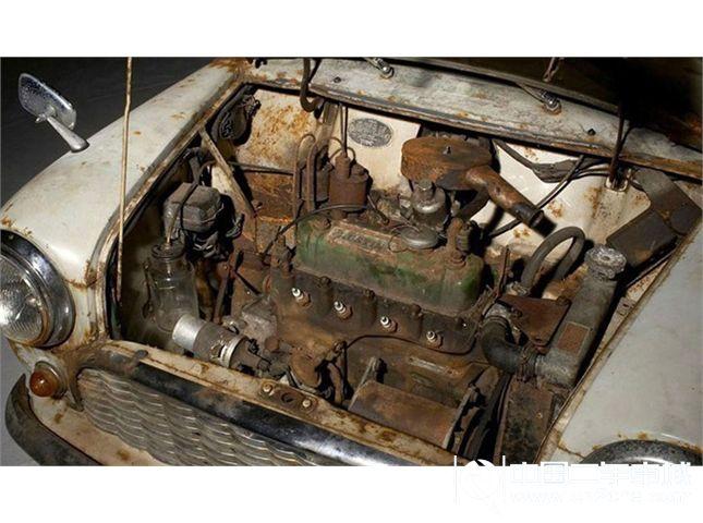 报废mini古董车 天价拍卖高清图片