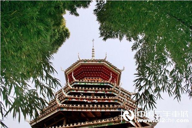 竹质塔结构图片