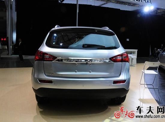众泰T600正式上市 售价7.98万 9.88万元