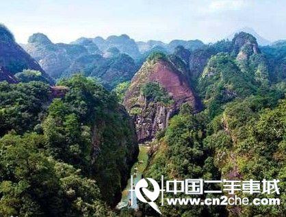 看福建泰宁丹霞地貌之美