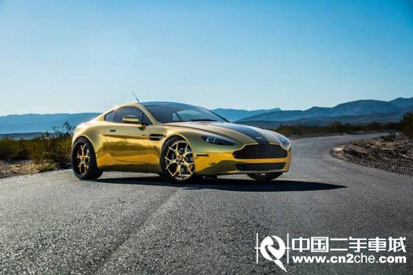 车之一,对于土豪炫富,彰显地位,对于阿斯顿马丁黄金定制版汽车高清图片