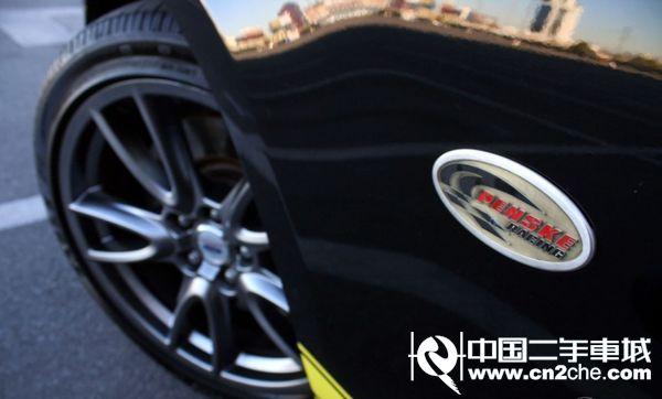##:福特野马Penske GT黑黄榜样配色轿车改装赏析