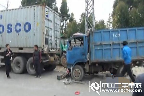 事件经过:牵引车的司机杨某驾驶