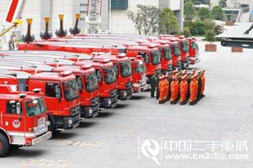 绍兴消防斥资4000万购置12辆消防车