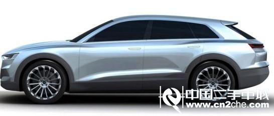 全新奥迪Q6概念车效果图 奥迪Q6概念车造型流畅高清图片
