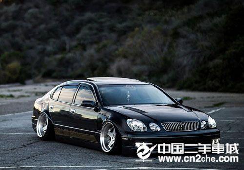 汽车改装之雷克萨斯GS400大趴范改装欣赏 更为酷炫高清图片