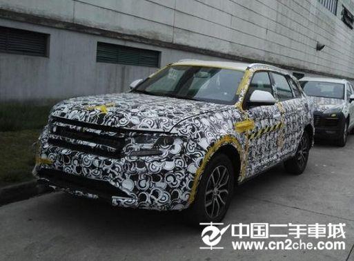 众泰全新SUV 众泰大迈X7最新谍照曝光