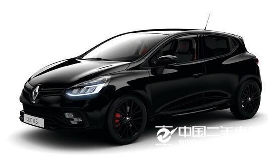 主导黑色元素 雷诺Clio R.S.特别版官图发布