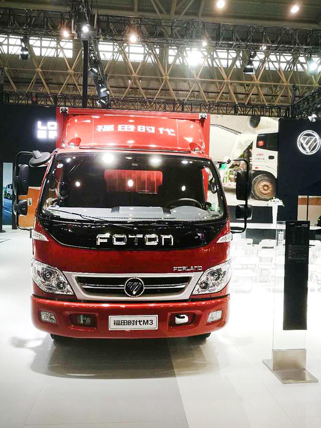 福田时代M3亮相中国商用车展览会首日喜获十余台订单