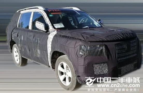 疑似荣威RX8预告图曝光 搭2.0T发动机