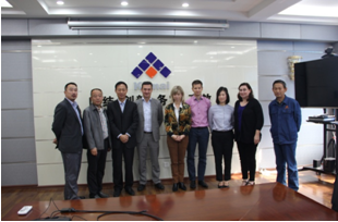 米其林采购团队到访科迈天津工厂