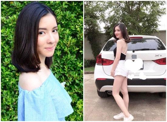 20岁美女泰国女星车祸身亡