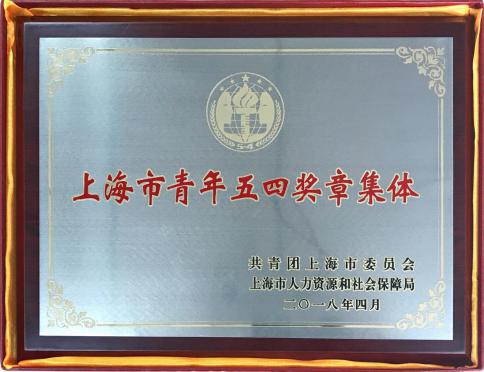 """正事金融青年团队荣获""""上海市青年五四奖章集体""""称号"""