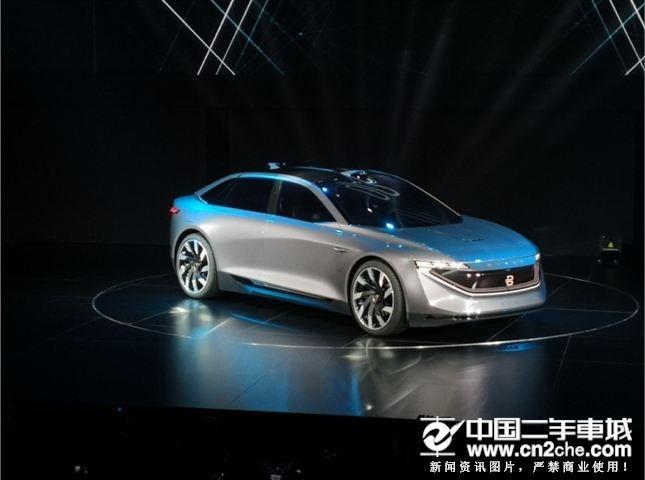 定位豪华<a href='http://www.cn2che.com/buycar/c1b0c0s0p0c0m0p1c0r0m0i0o0o2' target='_blank'>轿车</a> 拜腾K-Byte概念车发布