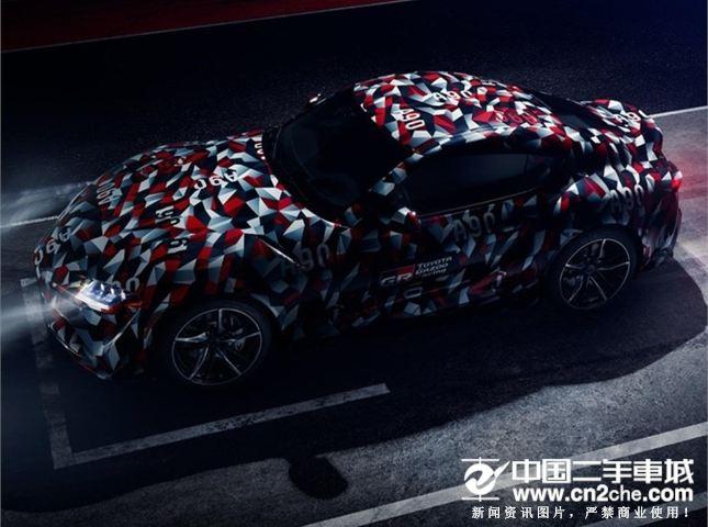 7月12日亮相 丰田全新Supra跑车的预告图曝光