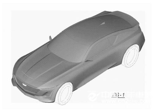 凯迪拉克CT5 Coupe专利图 或2019年底亮相