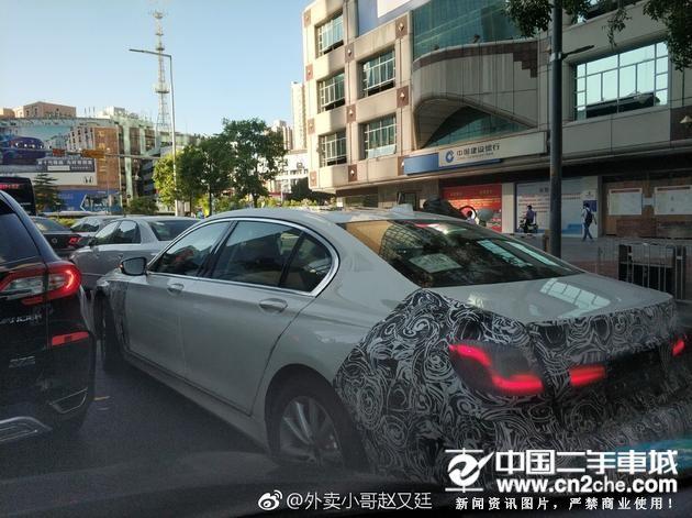 外观小幅变更 新款<a href='http://www.cn2che.com/buycar/c0b3c20003s2033p0c0m0p1c0r0m0i0o0o2' target='_blank'>宝马7</a>系国内谍照曝光