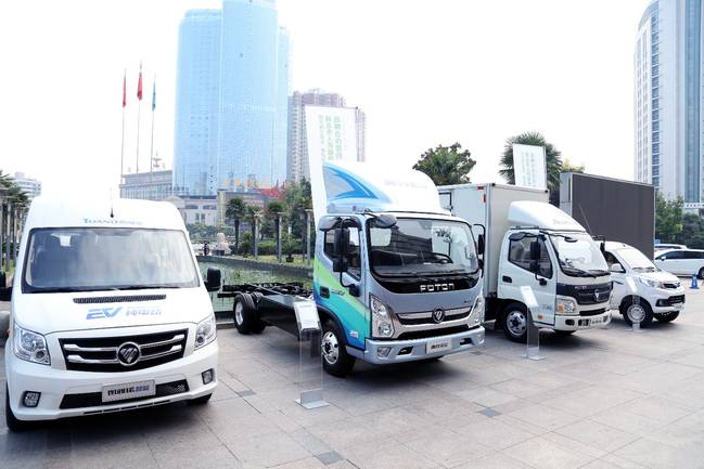 福田汽车 天津力神与商丘市人民政府签署战略合作协议