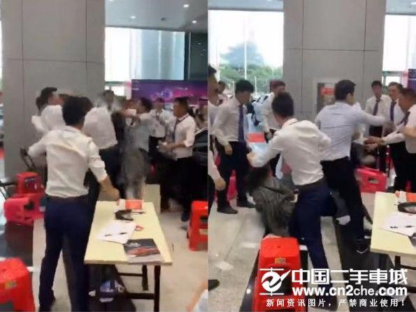 武汉拍视频麻将牌买车围殴事件走样