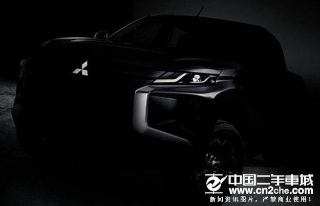 采用最新设计 新款三菱L200将于11月9日发布