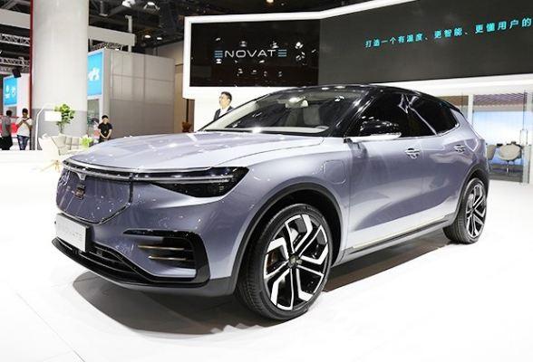 """纯电动中型SUV ENOVATE品牌首款车型命名""""ME7"""""""