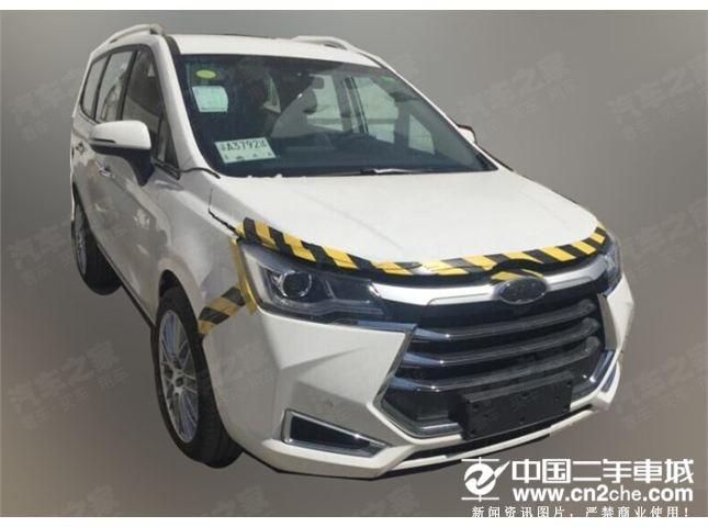 车身尺寸或将提升 疑似江淮全新MPV车型骡车谍照