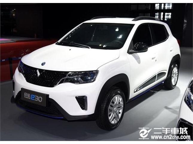 未来感十足 启辰e30将于7月15日开启预售