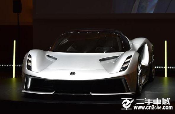 限量130辆  路特斯Evija将于广州车展国内首发