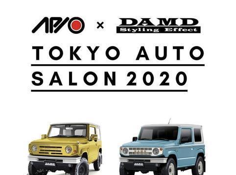 铃木吉姆尼Mk4汽车改装 外观典雅有个性