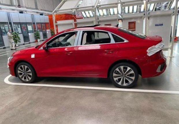 新款国产奥迪A3L新车亮相 定位第四代车型
