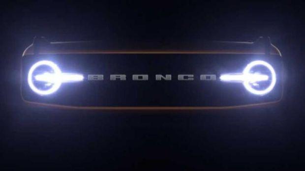 新款福特Bronco宣传图 延期至7月13日首发