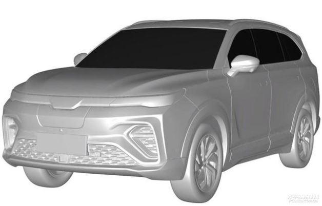 《【天富娱乐手机版】新款威马6座越野车专利图 或将今年亮相》