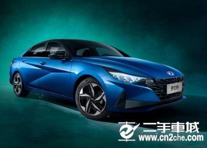 新款伊兰特亮相北京车展 设计非常大胆夸张
