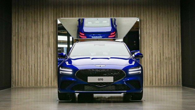 全新捷尼赛思G70新车亮相 先期在韩国市场发售