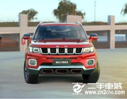 北京BJ30新车图 搭载1.5T发动机